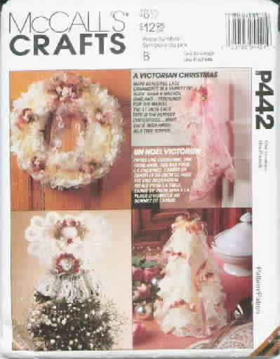 Advent Calendar, Stocking & Door Hanging Craft Pattern New